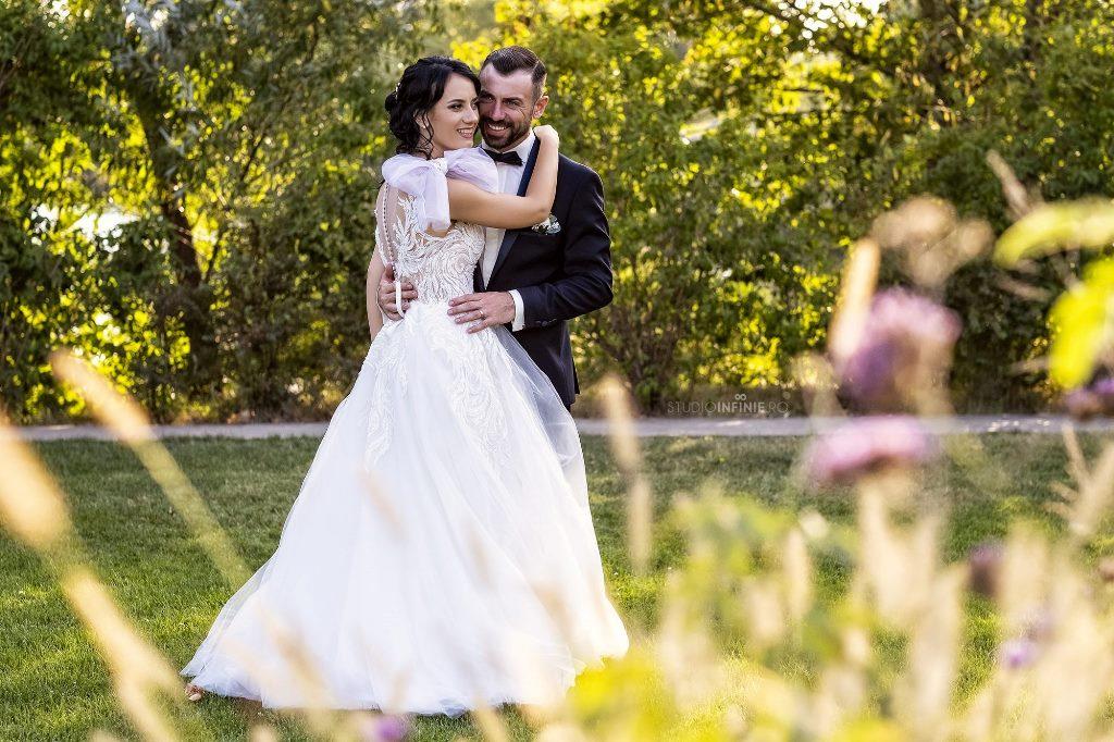 fotografie de nunta in gradina