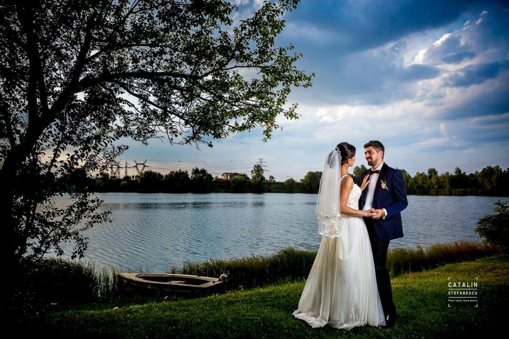 nunta perfecta pe malul lacului
