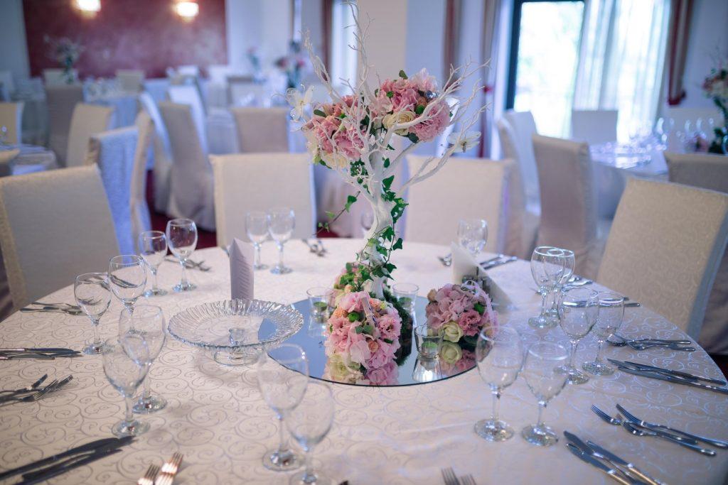 aranjament nunta la Belvedere Clinceni
